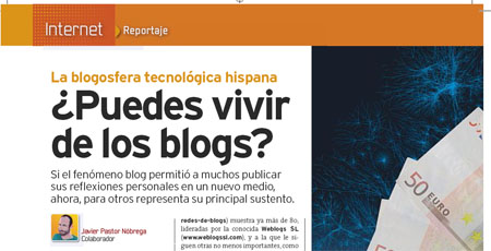 PC Actual - vivir de los blogs